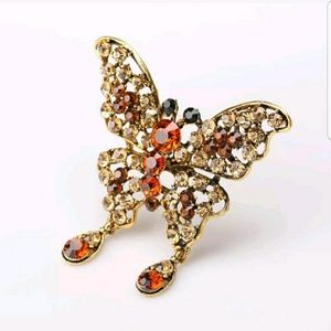 Jewelry - VINTAGE INSPIRED BUTTERFLY PIN BROOCH
